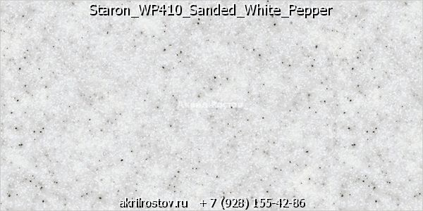 Staron WP410 Sanded White Pepper